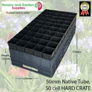 50 Cell Native Tube Crate